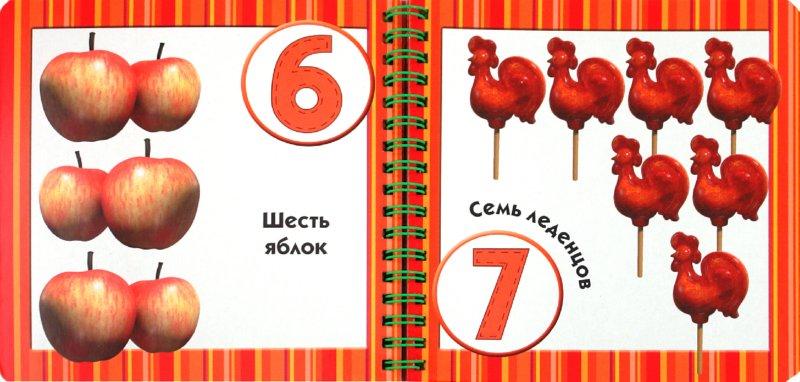 Иллюстрация 1 из 8 для Маша учит цифры. Маша и Медведь. Книжка на пружинке | Лабиринт - книги. Источник: Лабиринт