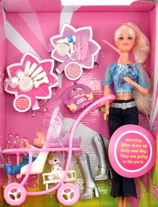 Иллюстрация 1 из 2 для Кукла с ребенком в коробке (298749) | Лабиринт - игрушки. Источник: Лабиринт