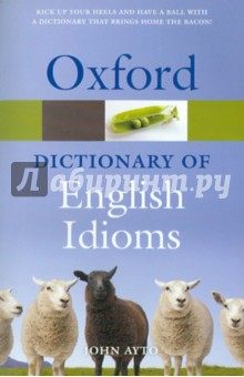 Dictionary of English Idioms dictionary of eponyms volume i