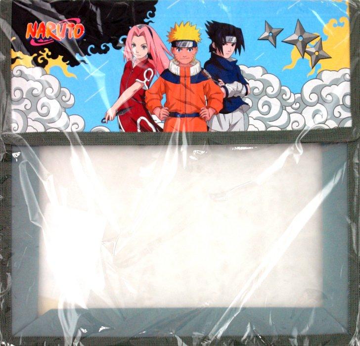 Иллюстрация 1 из 5 для Папка для тетрадей Naruto, А5 на липучке, 1 отделение (ПТ-4/N)   Лабиринт - канцтовы. Источник: Лабиринт