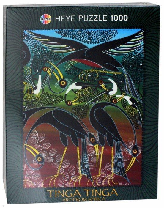 """Иллюстрация 1 из 2 для Puzzle-1000 """"Птицы"""" Tinga (29428)   Лабиринт - игрушки. Источник: Лабиринт"""