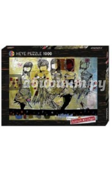 Puzzle-1000 Девочки (29418) пазлы crystal puzzle 3d головоломка вулкан 40 деталей