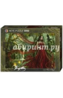 Puzzle-3000 Девушка в красном Ortega (29272) пазлы crystal puzzle 3d головоломка вулкан 40 деталей