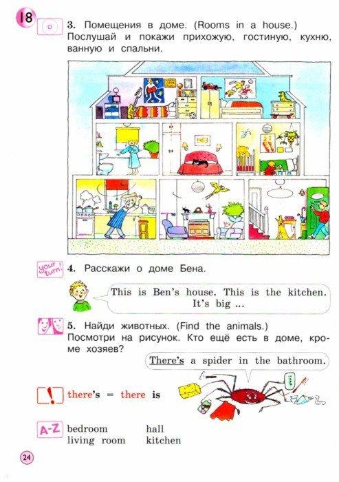 Конспект урока 2 класс английский язык верещагина