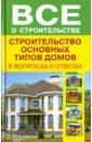 Строительство основных типов домов в вопросах и ответах книги по строительству деревянных домов