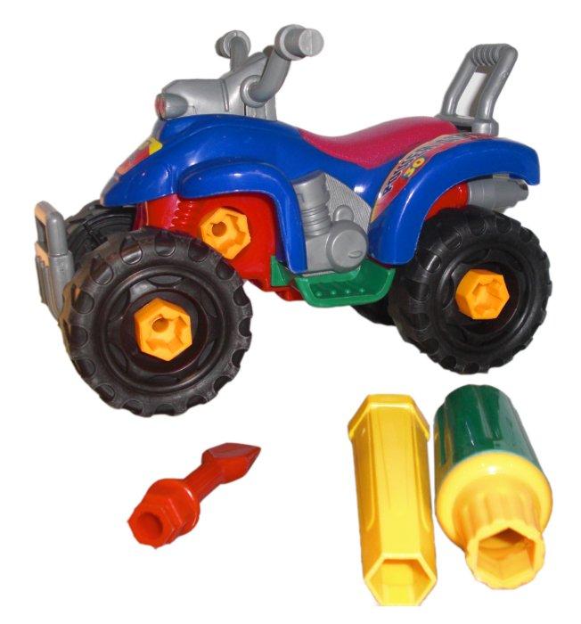 """Иллюстрация 1 из 5 для Конструктор с ключом """"Квадроцикл"""" (58819R)   Лабиринт - игрушки. Источник: Лабиринт"""