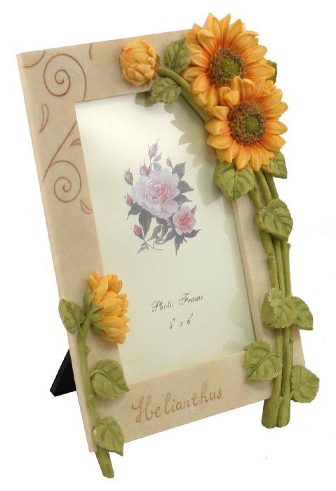 "Иллюстрация 1 из 3 для Фоторамка 10х15 ""Sunflower bloom"" (NS0803-1)   Лабиринт - сувениры. Источник: Лабиринт"