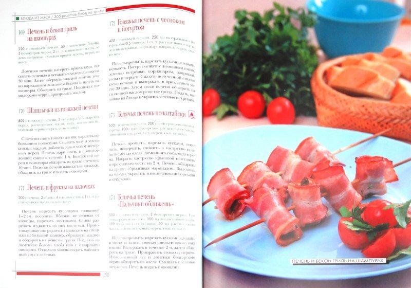Иллюстрация 1 из 12 для 365 рецептов блюд на гриле | Лабиринт - книги. Источник: Лабиринт