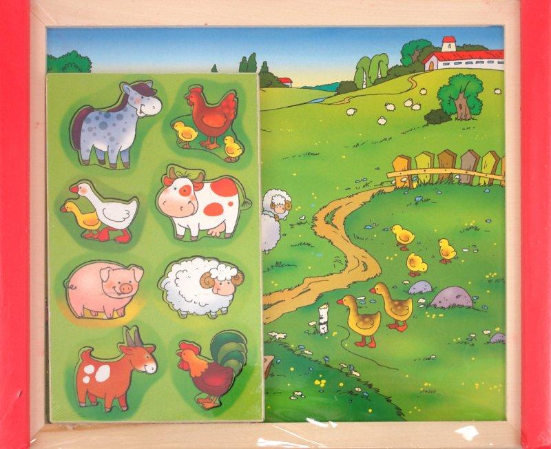 Иллюстрация 1 из 10 для Ферма на магнитах (Д-464) | Лабиринт - игрушки. Источник: Лабиринт