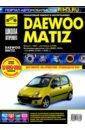 DAEWOO MATIZ. Руководство по эксплуатации, техническому обслуживанию и ремонту, Капустин А. В.,Горфин И. С.