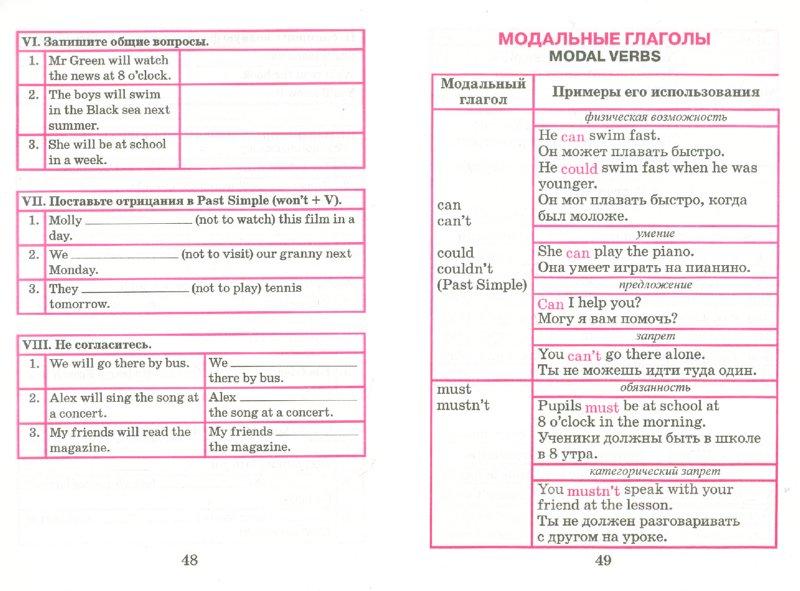 Английский язык схемах начальной школы фото 872