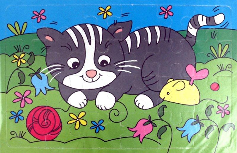 Иллюстрация 1 из 2 для Мягкие пазлы. Котенок (2187)   Лабиринт - игрушки. Источник: Лабиринт