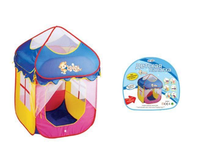 Иллюстрация 1 из 12 для Палатка в сумке (889-81В) | Лабиринт - игрушки. Источник: Лабиринт
