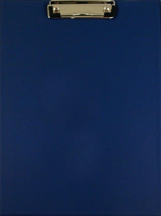 Иллюстрация 1 из 9 для Папка-планшет с верхним прижимом синяя (221489) | Лабиринт - канцтовы. Источник: Лабиринт