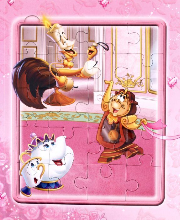Иллюстрация 1 из 9 для Красавица и Чудовище. Мозаика-малышка | Лабиринт - книги. Источник: Лабиринт
