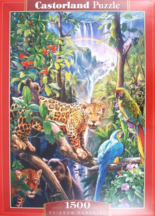 """Иллюстрация 1 из 6 для Пазл-мозаика """"Радуга в раю"""" 1500 деталей (C-150885)   Лабиринт - игрушки. Источник: Лабиринт"""