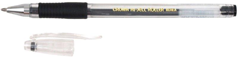 Иллюстрация 1 из 2 для Ручка гелевая с резиновой вставкой черная (HJR-500RВ) | Лабиринт - канцтовы. Источник: Лабиринт