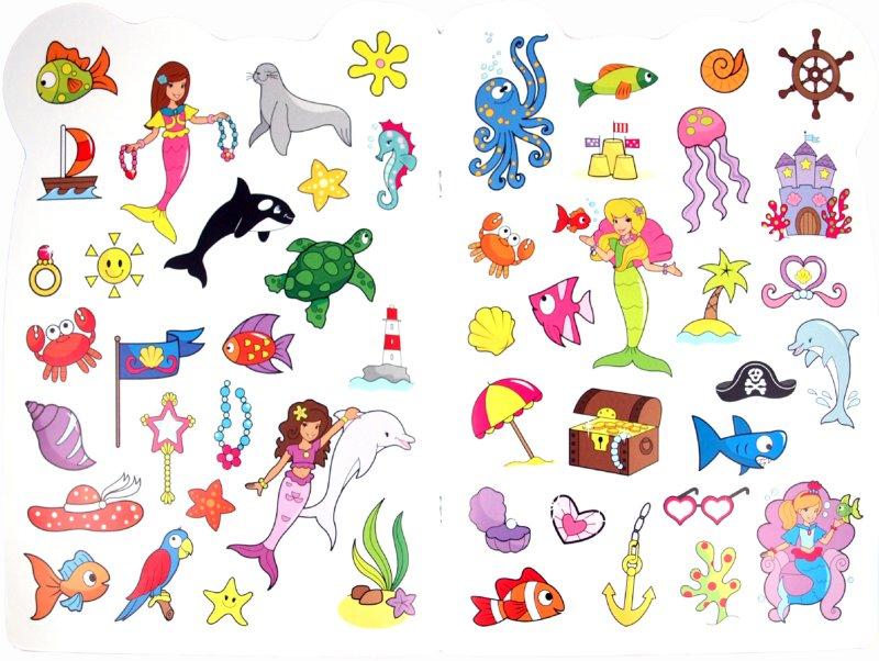 Иллюстрация 1 из 4 для Раскрась нас! Волшебные русалки | Лабиринт - книги. Источник: Лабиринт