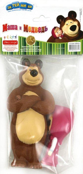 """Иллюстрация 1 из 11 для Пластизоль Набор """"Маша и Медведь"""" (3359GT)   Лабиринт - игрушки. Источник: Лабиринт"""