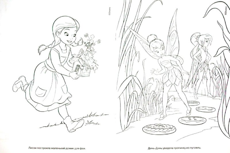 """Иллюстрация 1 из 4 для Волшебная раскраска """"Феи"""" (№ РК 11102)   Лабиринт - книги. Источник: Лабиринт"""