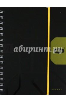 """Книжка записная А6, 80 листов, линейка """"Stila Accent"""" (106900)"""