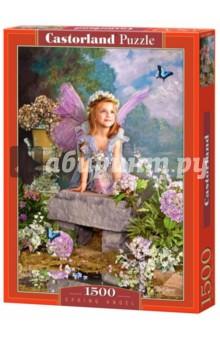"""Puzzle-1500 """"Весенний Ангел"""" (C-150892 NEW) от Лабиринт"""