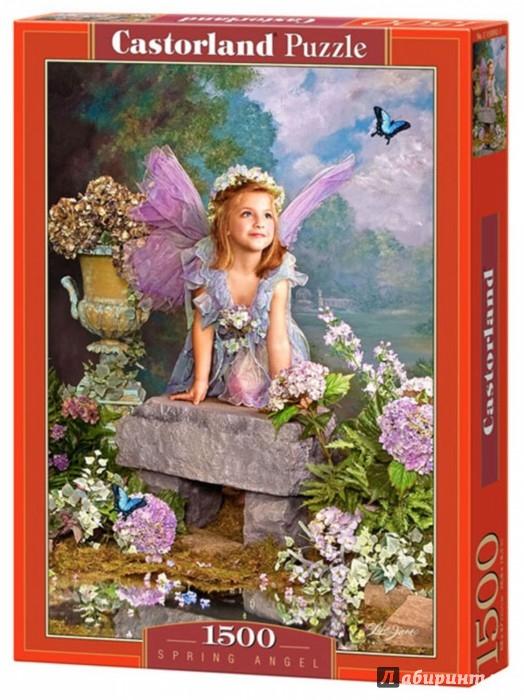 """Иллюстрация 1 из 11 для Puzzle-1500 """"Весенний Ангел"""" (C-150892 NEW)   Лабиринт - игрушки. Источник: Лабиринт"""