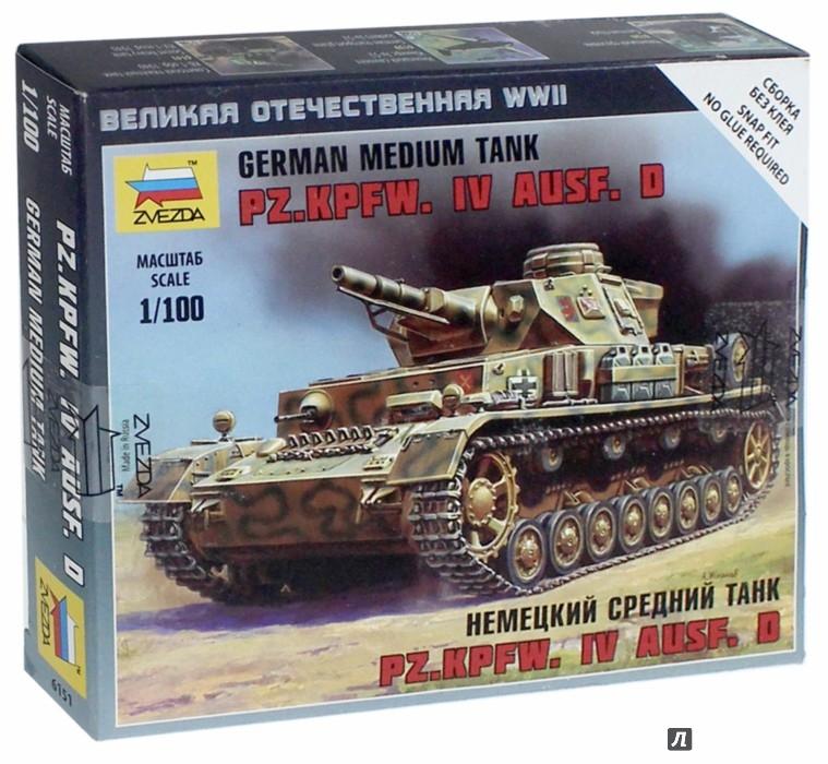 Иллюстрация 1 из 10 для Немецкий танк PZ-IV AUSF.D (6151)   Лабиринт - игрушки. Источник: Лабиринт
