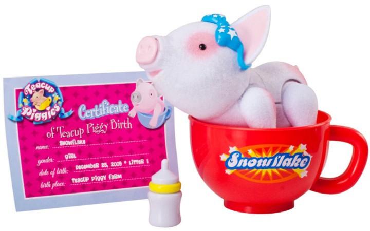 Иллюстрация 1 из 2 для Пигис-милашки в чайных чашках. Сноуи (23596)   Лабиринт - игрушки. Источник: Лабиринт