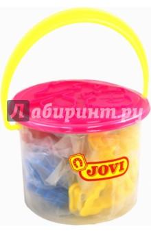 Формы для лепки и моделирования (24 формы, животные, предметы) (7/24) jovi набор мягкой пасты и аксессуаров для лепки огород