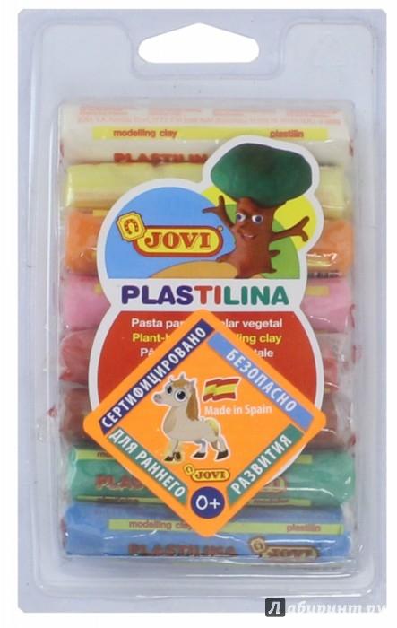 Иллюстрация 1 из 6 для Пластилин 8 цветов*14 гр. (28) | Лабиринт - игрушки. Источник: Лабиринт