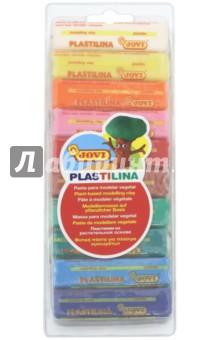 Пластилин 10 цветов*25 гр. (31) воск beauty image воск в кассетах белый 145 гр