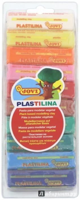 Иллюстрация 1 из 4 для Пластилин 10 цветов*25 гр. (31) | Лабиринт - игрушки. Источник: Лабиринт