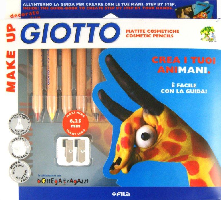 Иллюстрация 1 из 16 для Грим-стик (пигм. воск). 6 карандашей (F47070) | Лабиринт - игрушки. Источник: Лабиринт