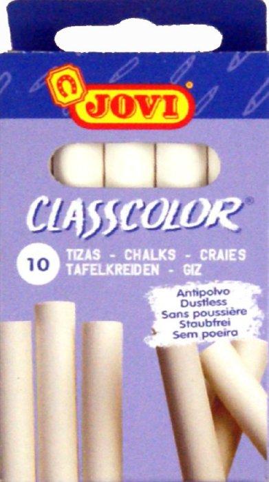 Иллюстрация 1 из 5 для Мелки белые 10 штук в коробке classcolor (1010) | Лабиринт - канцтовы. Источник: Лабиринт
