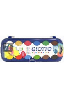 """Краски акварельные """"Giotto Acquerelli"""" (12 цветов) (331000)"""