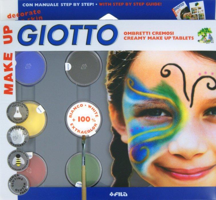 Иллюстрация 1 из 8 для Грим-крем (пигментированный воск) 6 цветов в баночках с кисточкой (F470100) | Лабиринт - игрушки. Источник: Лабиринт