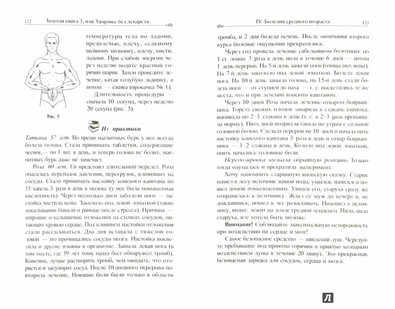 Иллюстрация 1 из 9 для Золотая книга-3, или Здоровье без лекарств - Алла Тартак | Лабиринт - книги. Источник: Лабиринт