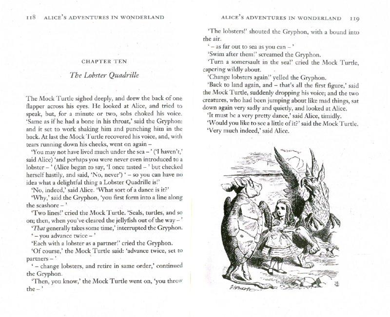 Иллюстрация 1 из 11 для Alices Adventures in Wonderland & Through the Look - Lewis Carroll | Лабиринт - книги. Источник: Лабиринт