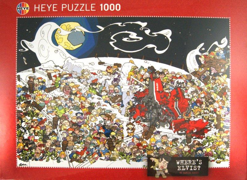 Иллюстрация 1 из 2 для Puzzle-1000 Лова, Where's Elvis? (29420)   Лабиринт - игрушки. Источник: Лабиринт