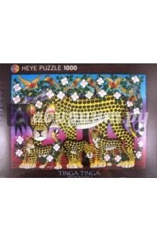 купить Puzzle-1000 Семья леопардов Tinga (29427) дешево