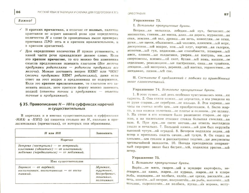 Иллюстрация 1 из 16 для Русский язык: в таблицах и схемах для подготовки к ЕГЭ - Наталия Миронова | Лабиринт - книги. Источник: Лабиринт