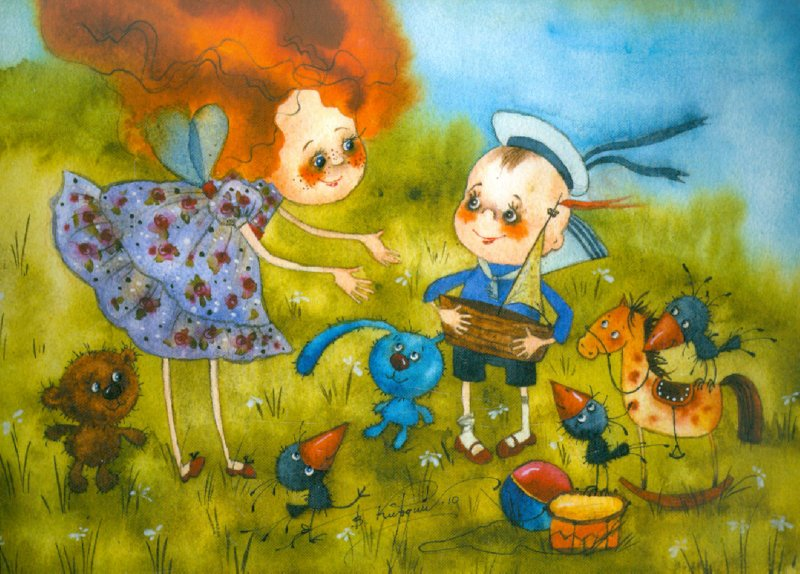 Иллюстрация 1 из 42 для Я желаю тебе счастья! Набор открыток - Виктория Кирдий | Лабиринт - сувениры. Источник: Лабиринт