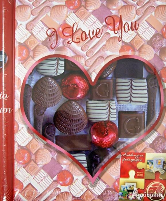 """Иллюстрация 1 из 3 для Фотоальбом """"Chocolate Love"""" (LM-SA10 / 11608)   Лабиринт - сувениры. Источник: Лабиринт"""