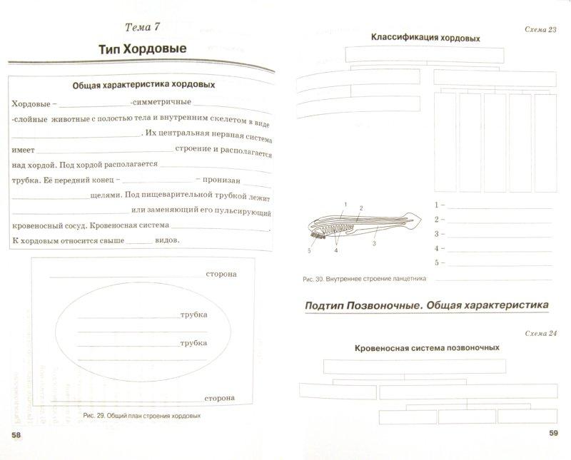 Иллюстрация 1 из 6 для Биология. 7 класс. Животные. Рабочая тетрадь. ФГОС - Наталия Бодрова | Лабиринт - книги. Источник: Лабиринт