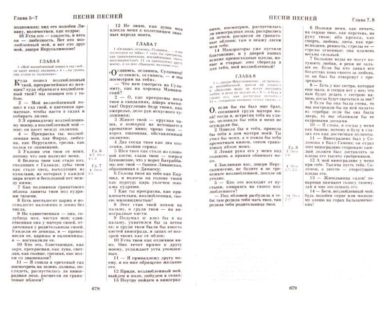 Иллюстрация 1 из 12 для Библия. Книги Священного Писания Ветхого и Нового Завета. Канонические | Лабиринт - книги. Источник: Лабиринт