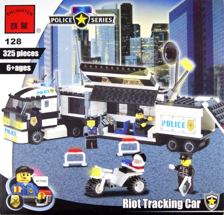 """Иллюстрация 1 из 16 для Конструктор """"Полиция"""" 325 деталей (128)   Лабиринт - игрушки. Источник: Лабиринт"""