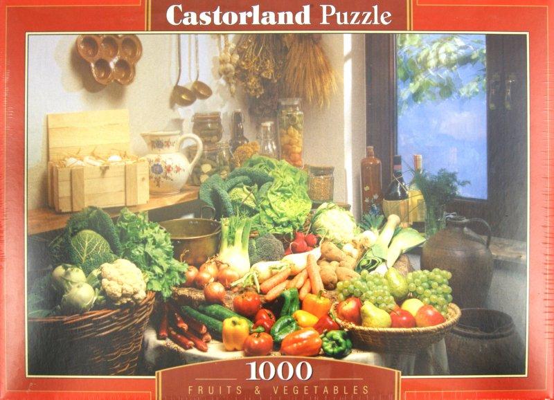 Иллюстрация 1 из 7 для Puzzle-1000. Фрукты и овощи (C-102341) | Лабиринт - игрушки. Источник: Лабиринт