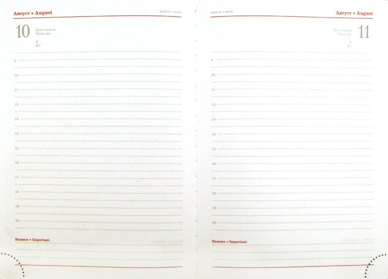 Иллюстрация 1 из 3 для Ежедневник полудатированный 384 страницы, А5, коричневый (22904) | Лабиринт - канцтовы. Источник: Лабиринт