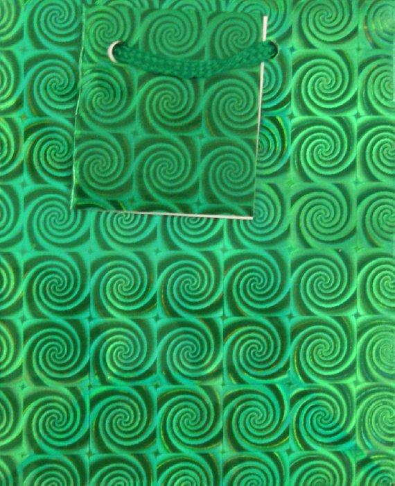 Иллюстрация 1 из 5 для Пакет бумажный голографический 11х14х6 см (12733) | Лабиринт - сувениры. Источник: Лабиринт